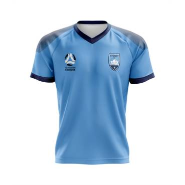 SYDNEY FC MENS GEO SQUAD TRAINING TEE