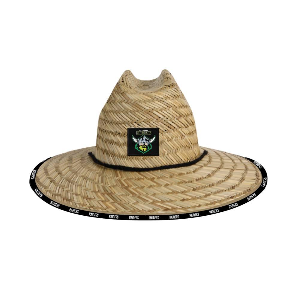 CANBERRA RAIDERS STRAW HATS0