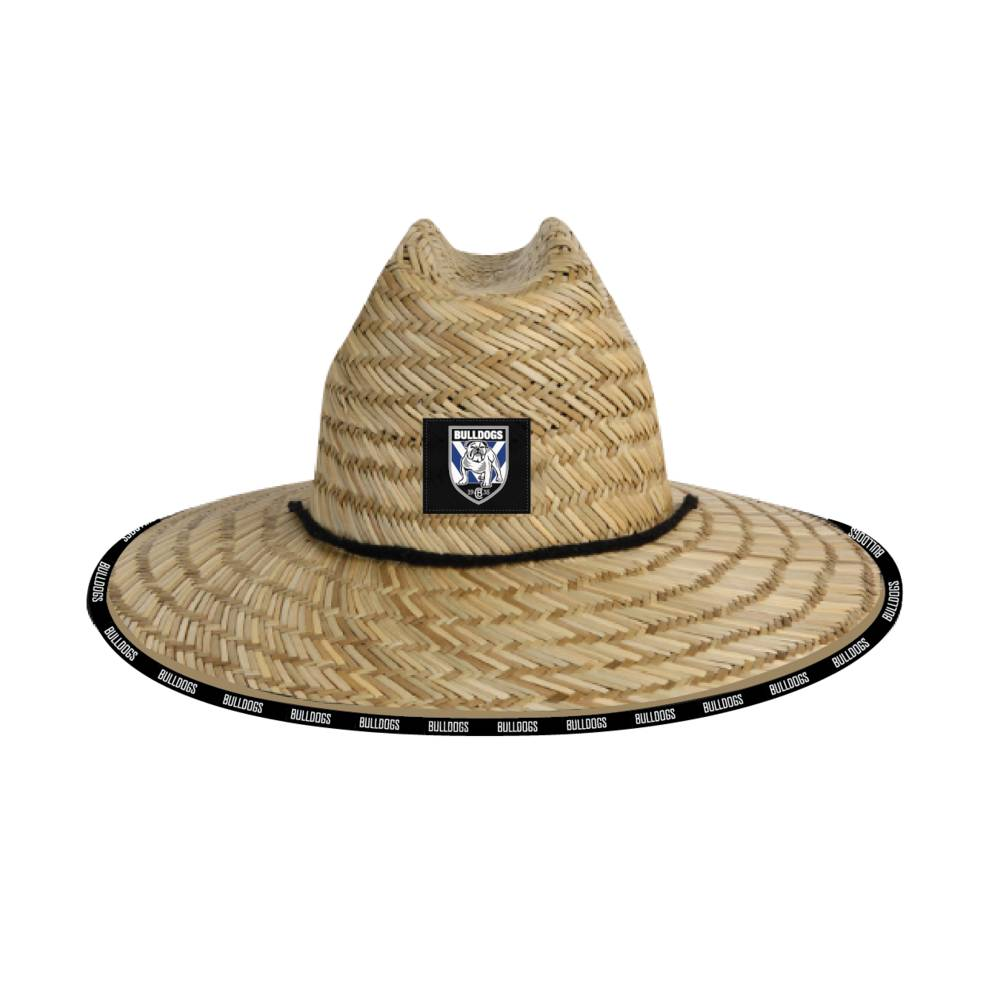 CANTERBURY BULLDOGS STRAW HATS0