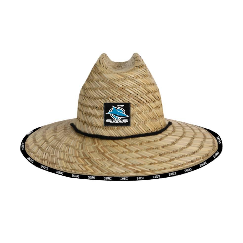 CRONULLA SHARKS STRAW HATS0