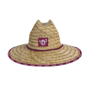 MANLY SEA EAGLES STRAW HATS