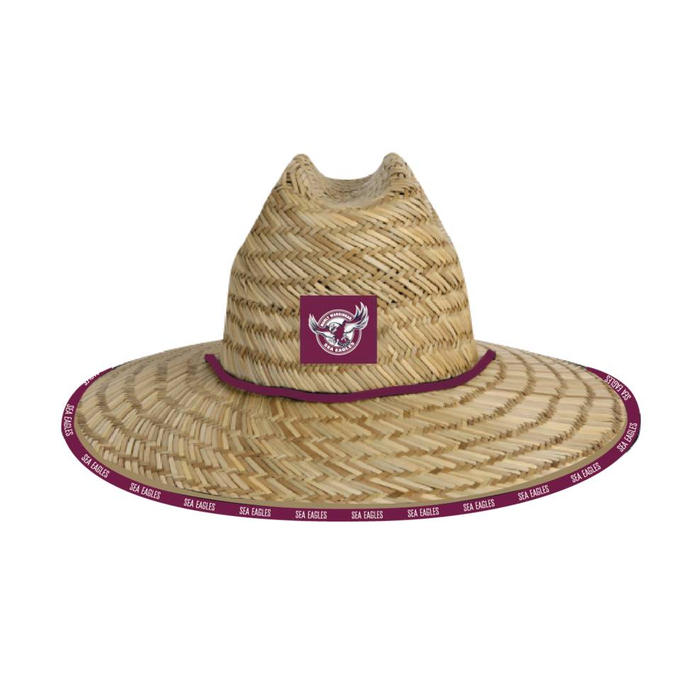 MANLY SEA EAGLES STRAW HATS0