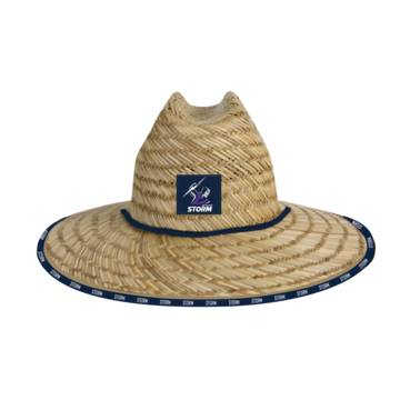 MELBOURNE STORM STRAW HATS