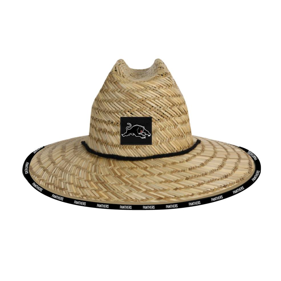 PENRITH PANTHERS STRAW HATS0