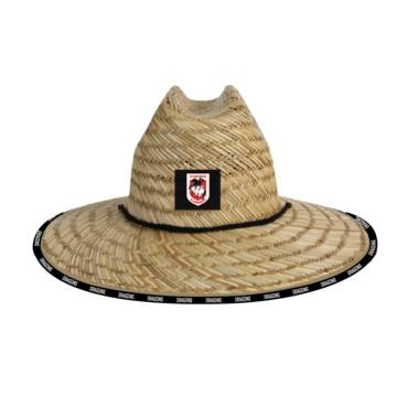 ST GEORGE DRAGONS STRAW HATS