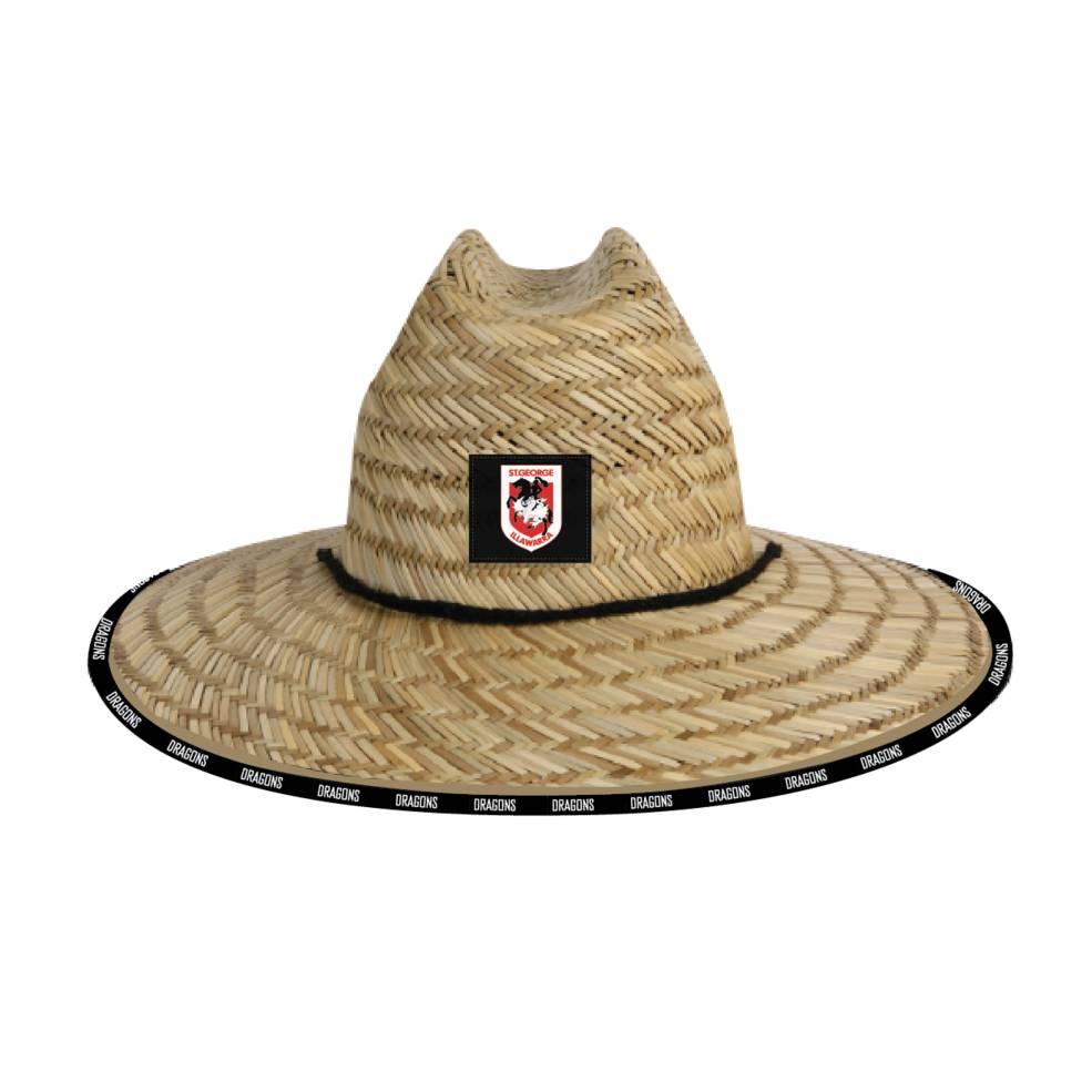 ST GEORGE DRAGONS STRAW HATS0