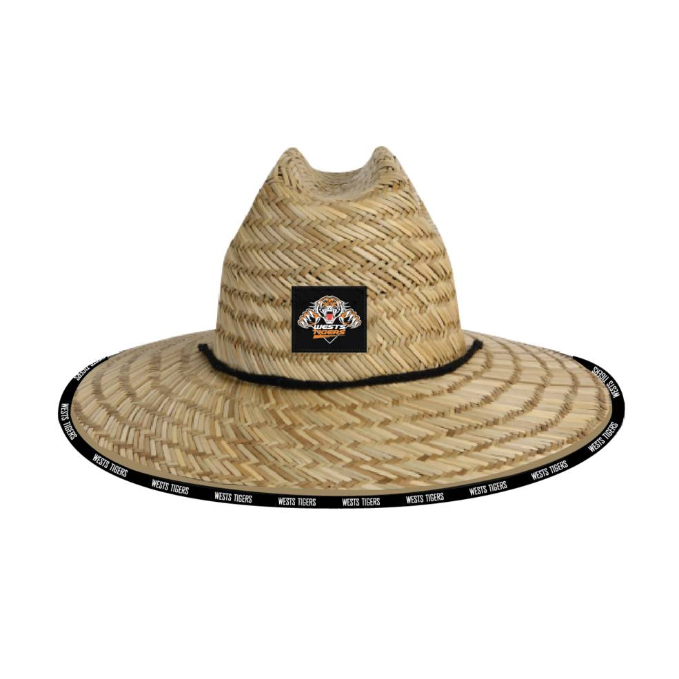 WESTS TIGERS STRAW HATS0