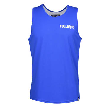 CANTERBURY BULLDOGS   MENS PERFORMANCE SINGLET