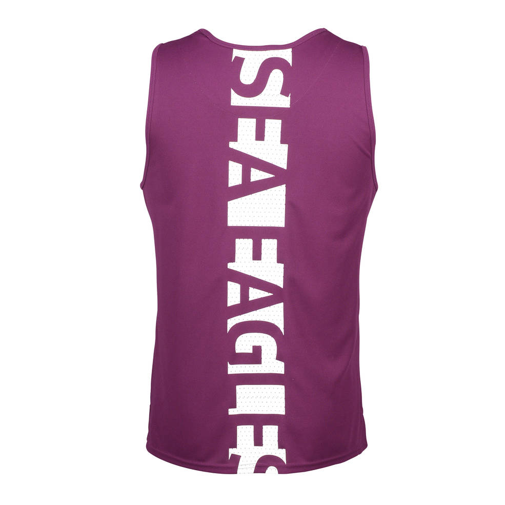 MANLY SEA EAGLES MENS PERFORMANCE SINGLET1