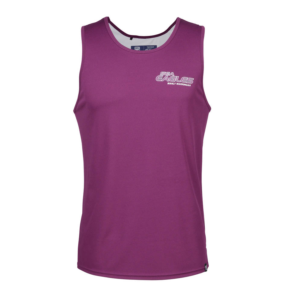 MANLY SEA EAGLES MENS PERFORMANCE SINGLET0