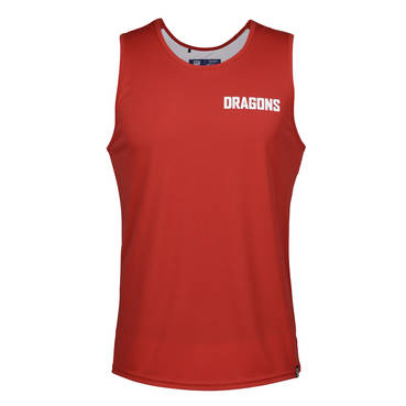 ST GEORGE DRAGONS  MENS PERFORMANCE SINGLET
