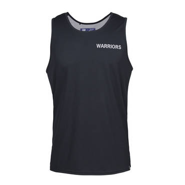WARRIORS  MENS PERFORMANCE SINGLET