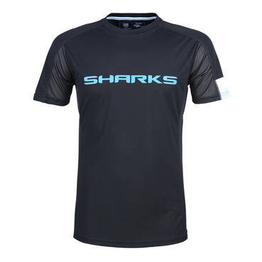 CRONULLA SHARKS MENS PERFORMANCE TEE