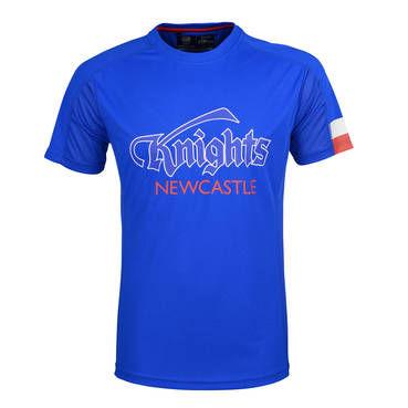 NEWCASTLE KNIGHTS MENS PERFORMANCE TEE