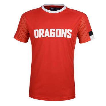 ST GEORGE DRAGONS  MENS PERFORMANCE TEE