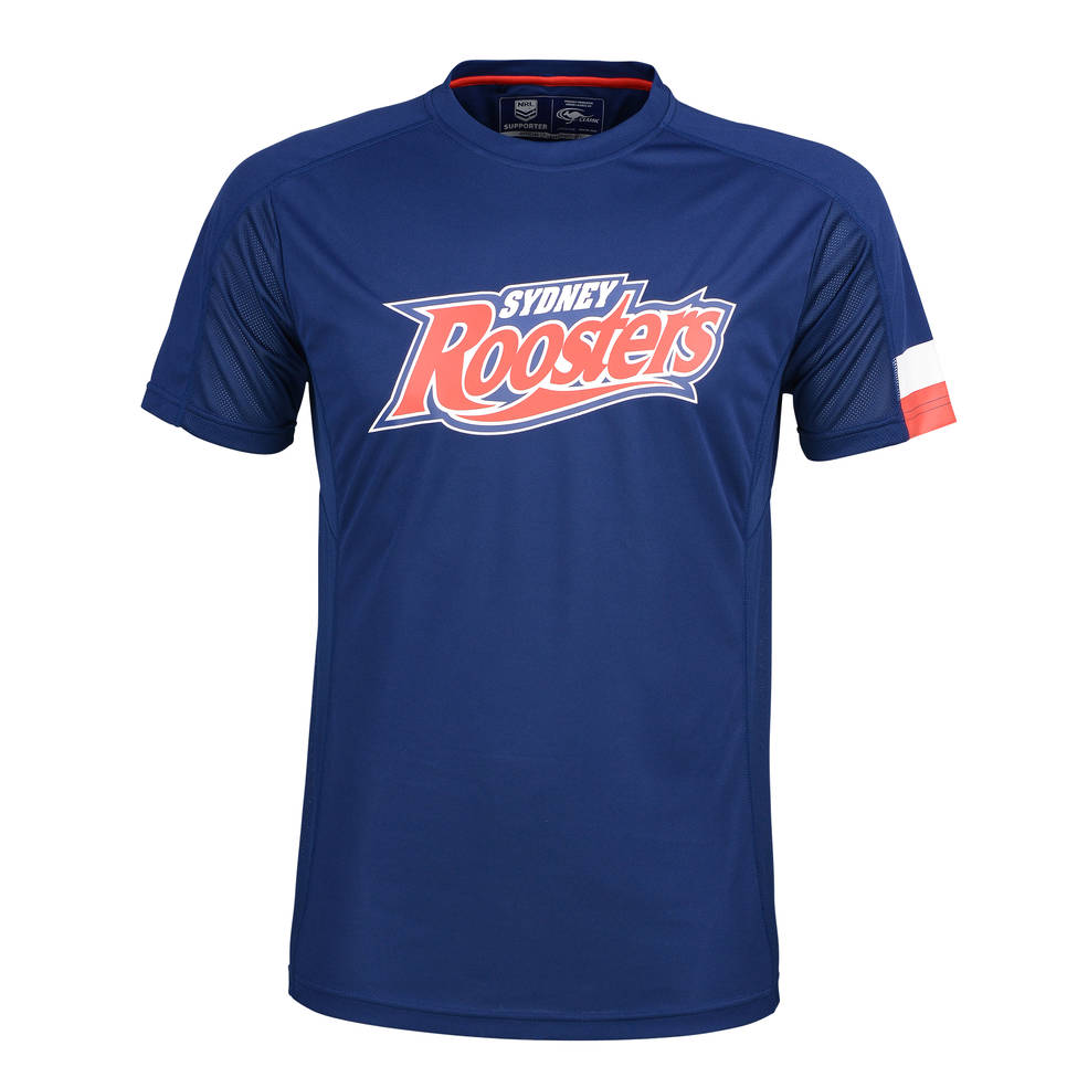 SYDNEY ROOSTERS MENS PERFORMANCE TEE0