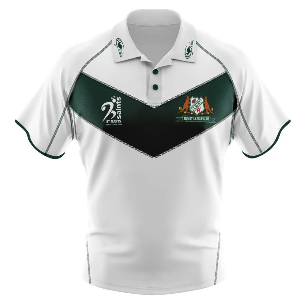ST MARYS SAINTS SUPPORTER POLO3