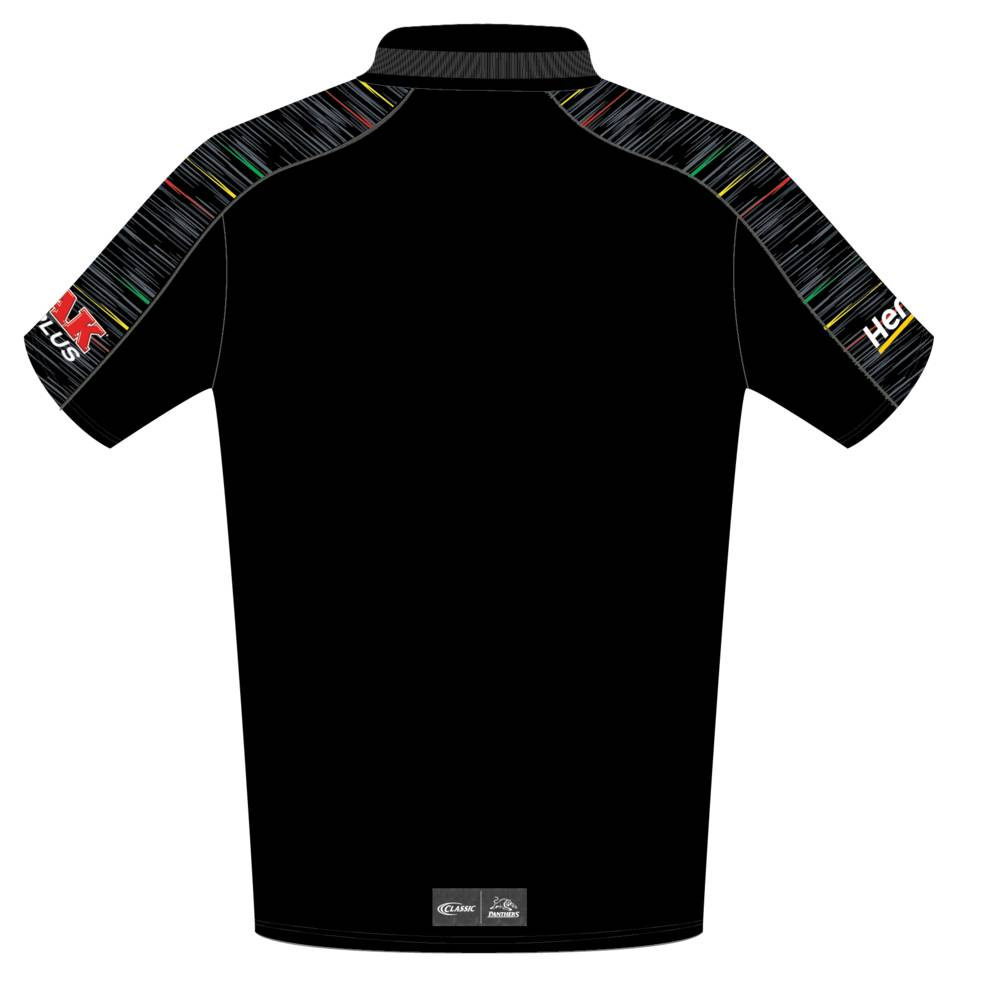best loved dd29e 27f15 PENRITH PANTHERS MENS MEDIA POLO