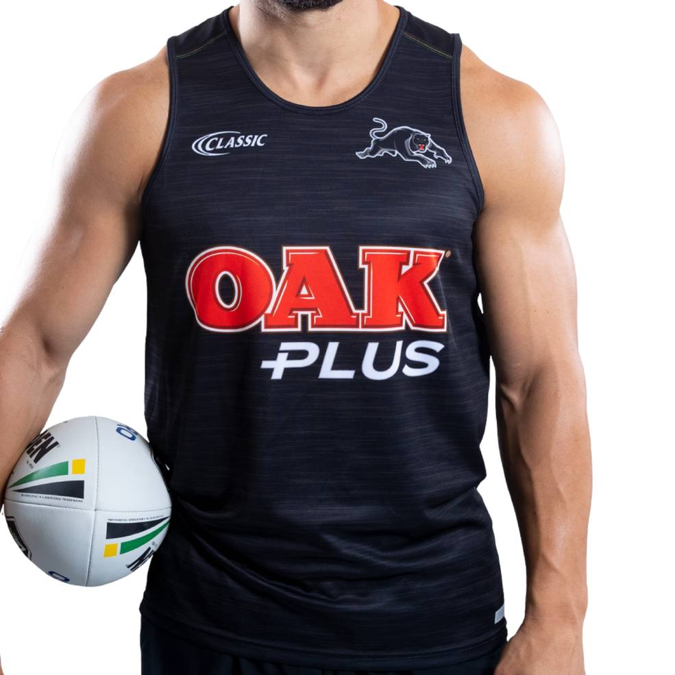 PENRITH PANTHERS MENS TRAINING SINGLET0