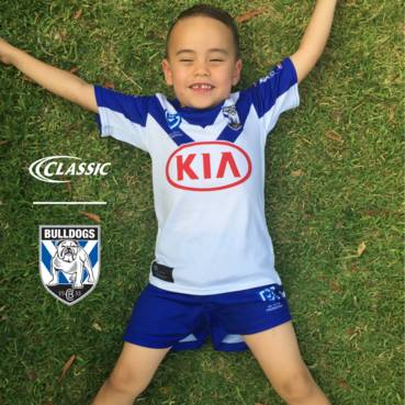CANTERBURY BULLDOGS REPLICA HOME SHORTS