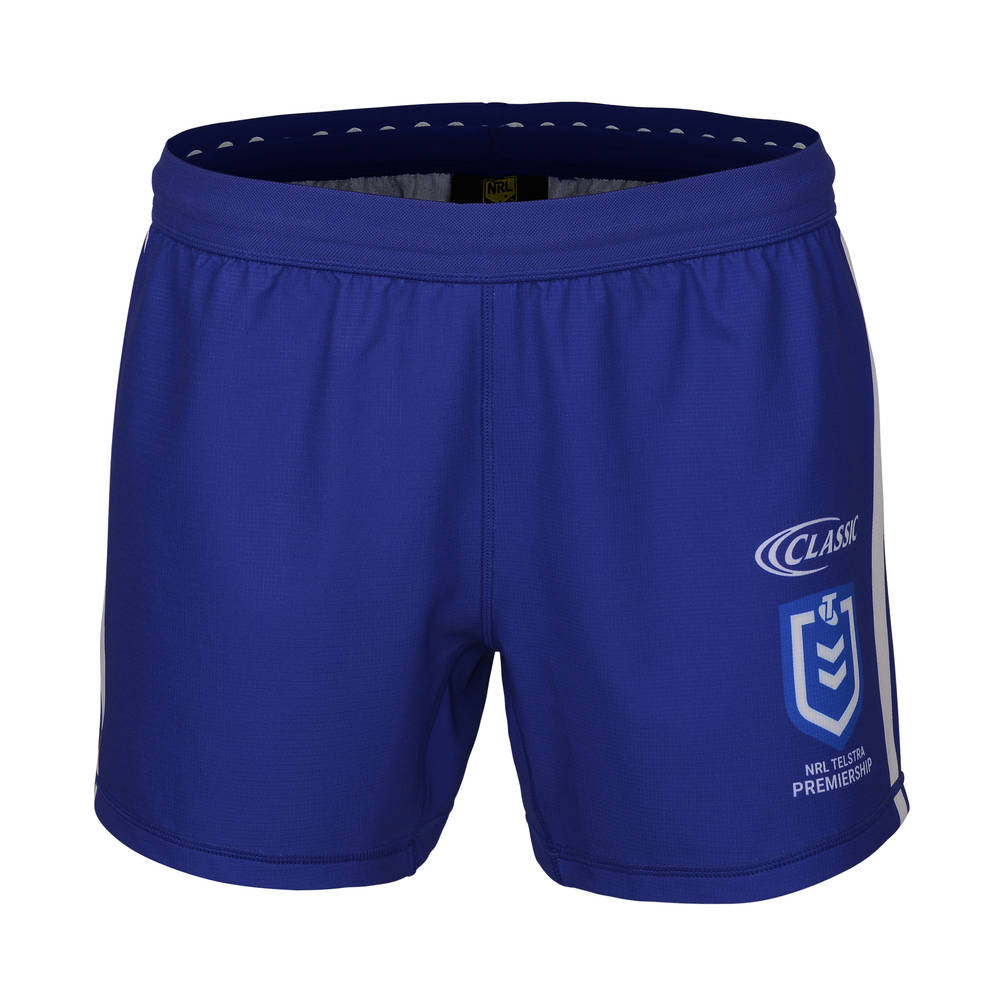 CANTERBURY BULLDOGS REPLICA HOME SHORTS0