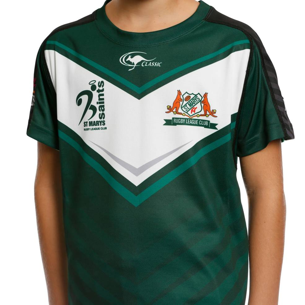ST MARYS SAINTS TRAINING TEE1