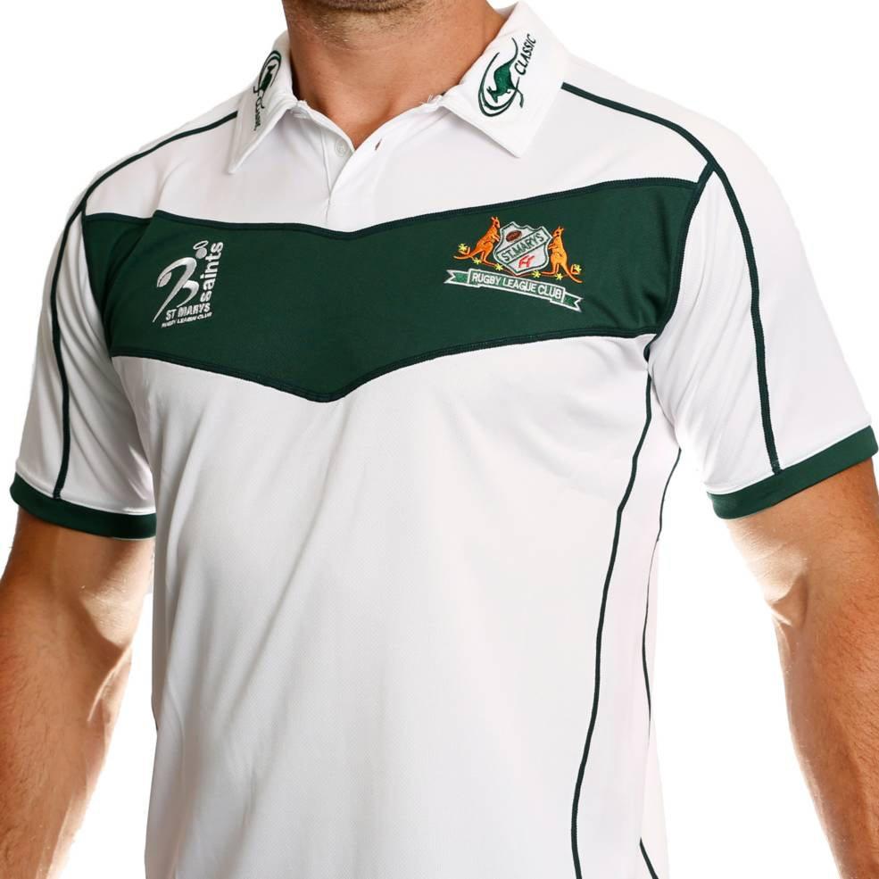 ST MARYS SAINTS SUPPORTER POLO1