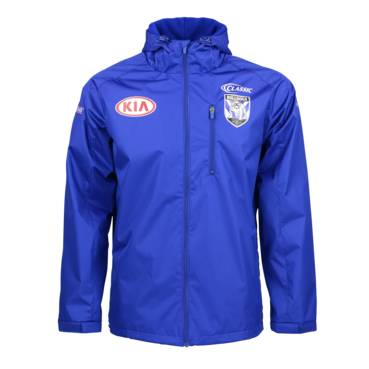 CANTERBURY BULLDOGS MENS WET WEATHER JACKET