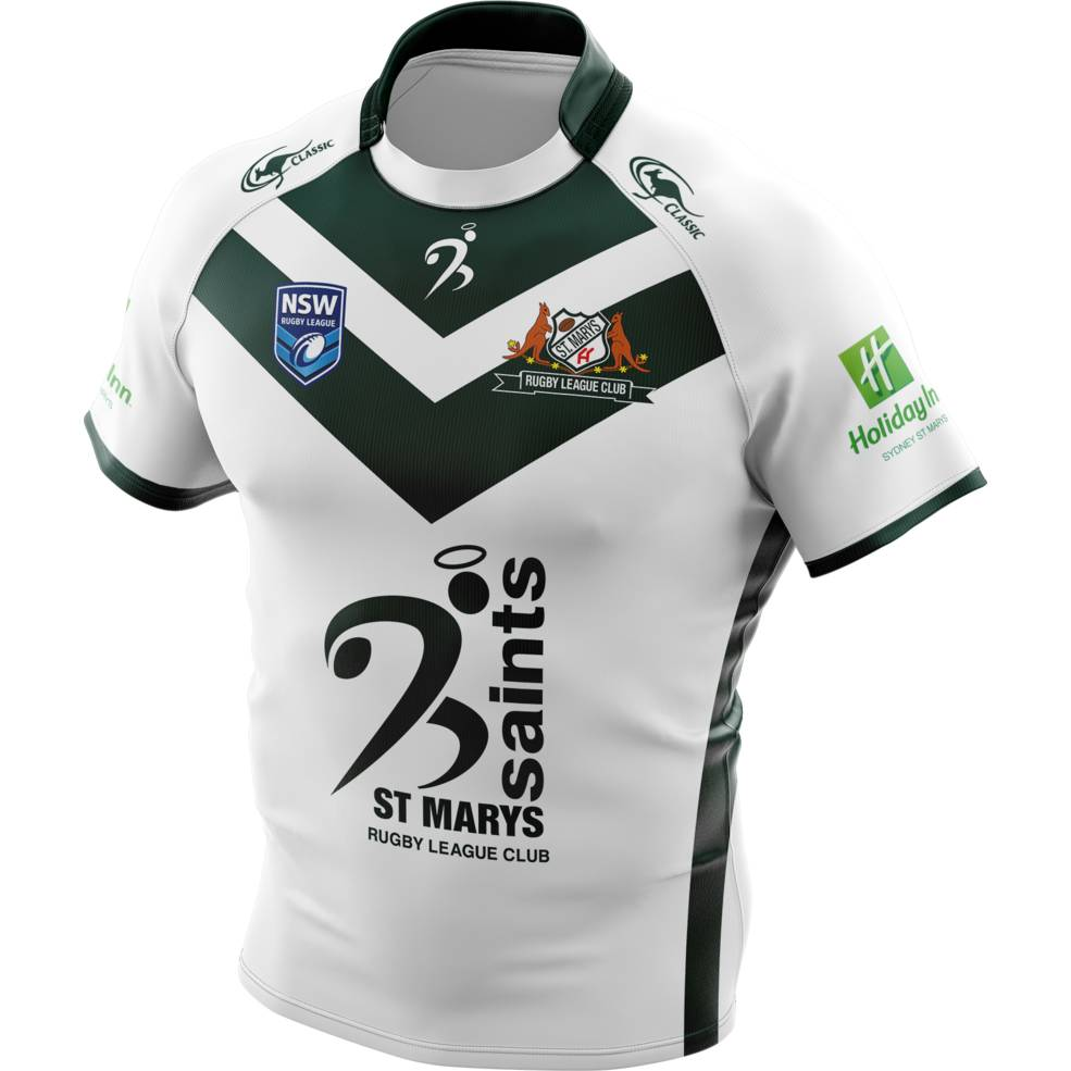ST MARYS SAINTS AWAY SUPPORTER JERSEY0