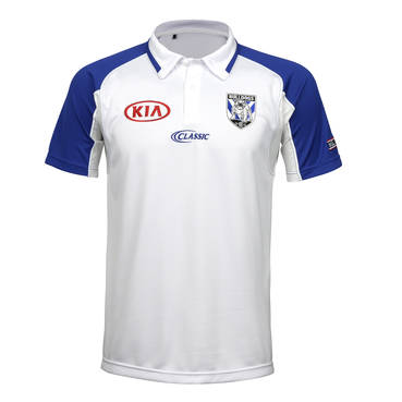 CANTERBURY BULLDOGS MENS COACHES MEDIA POLO