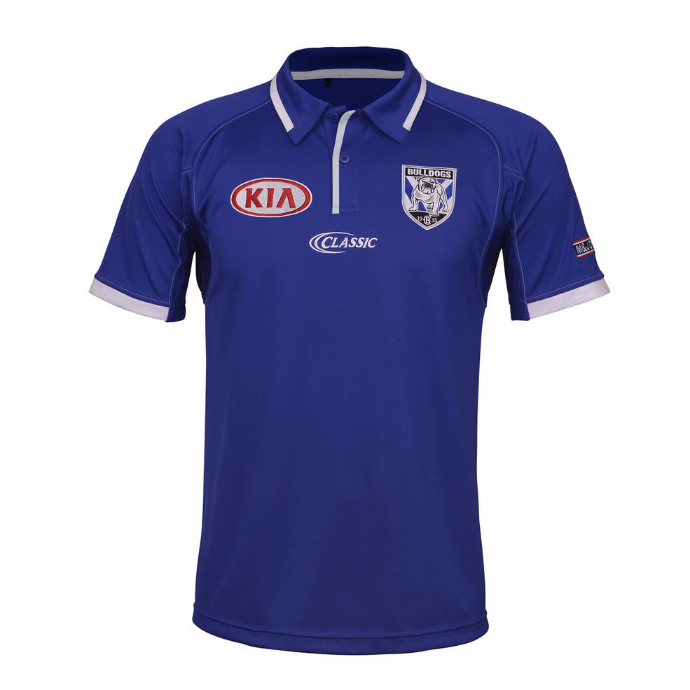 CANTERBURY BULLDOGS MENS MEDIA POLO0