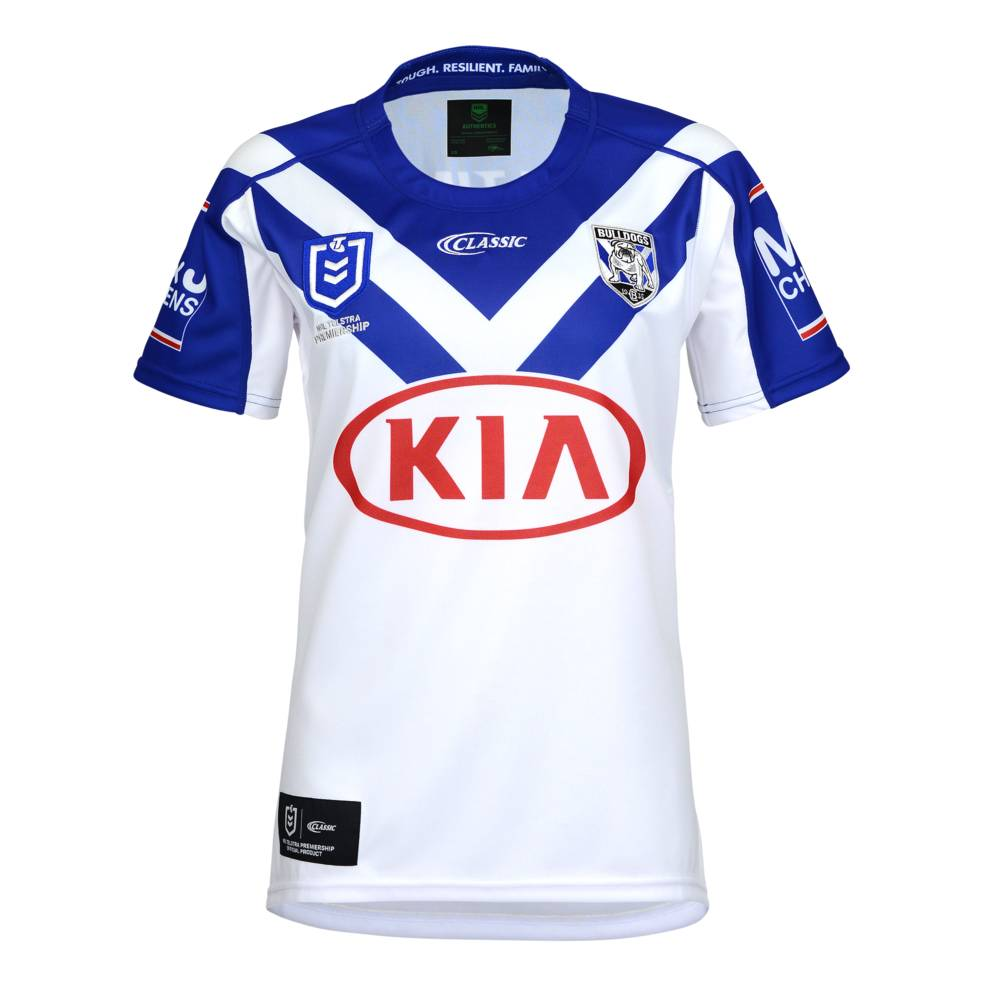CANTERBURY BULLDOGS LADIES HOME JERSEY0