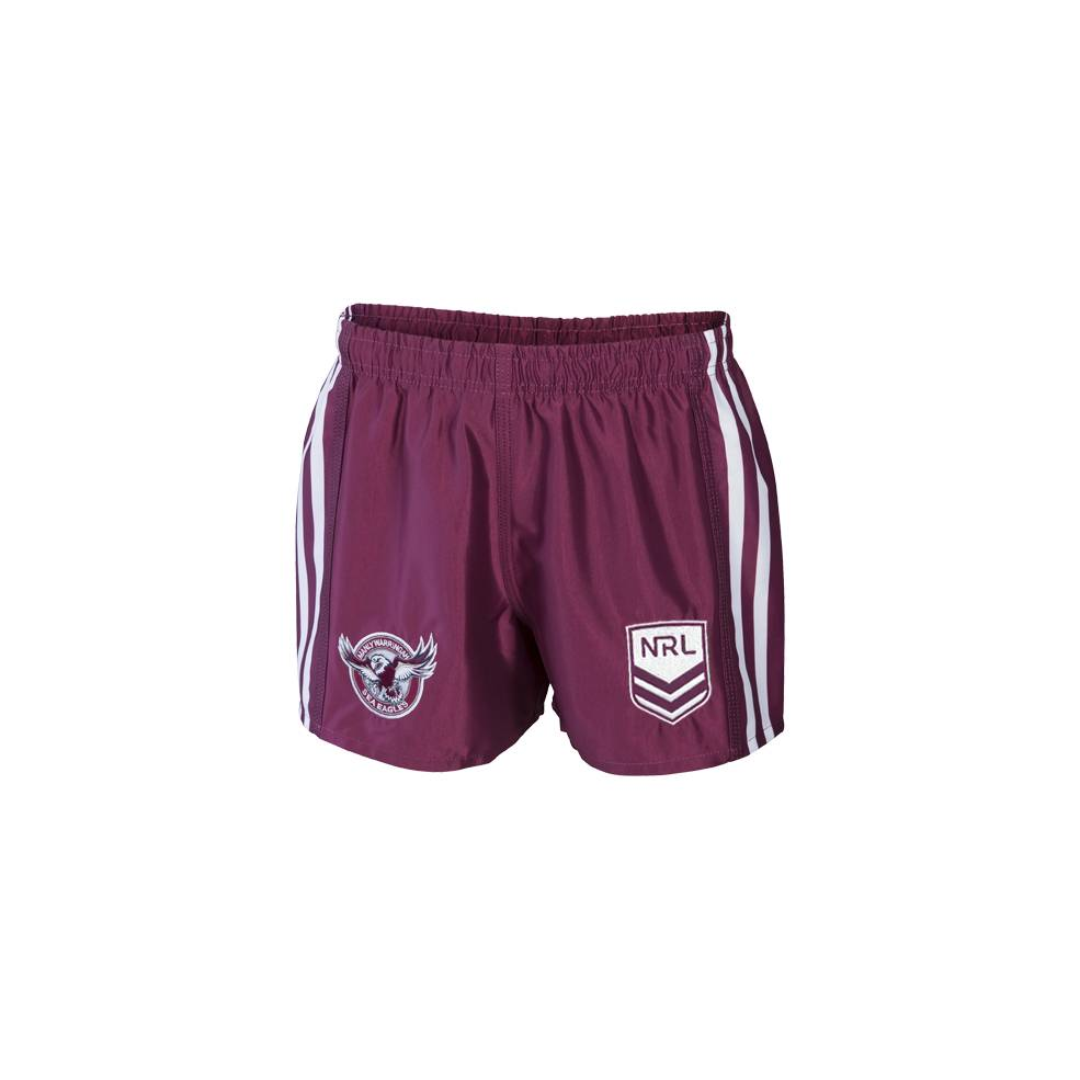 MANLY SEA EAGLES HOME SUPPORTER SHORTS0