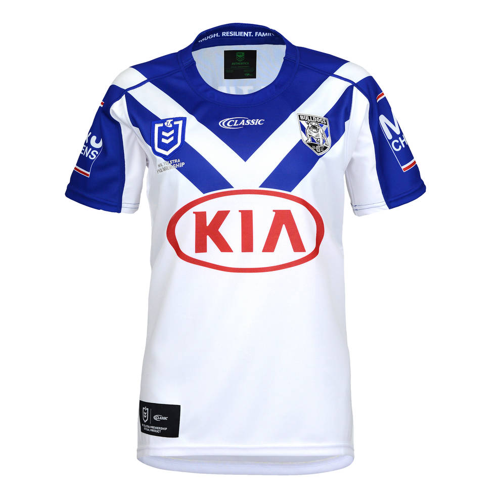 CANTERBURY BULLDOGS YOUTH HOME JERSEY0