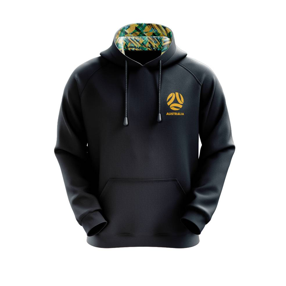YOUTH SOCCEROOS PULLOVER HOODY0
