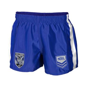 BULLDOGS HOME NRL MENS SUPPORTER SHORTS
