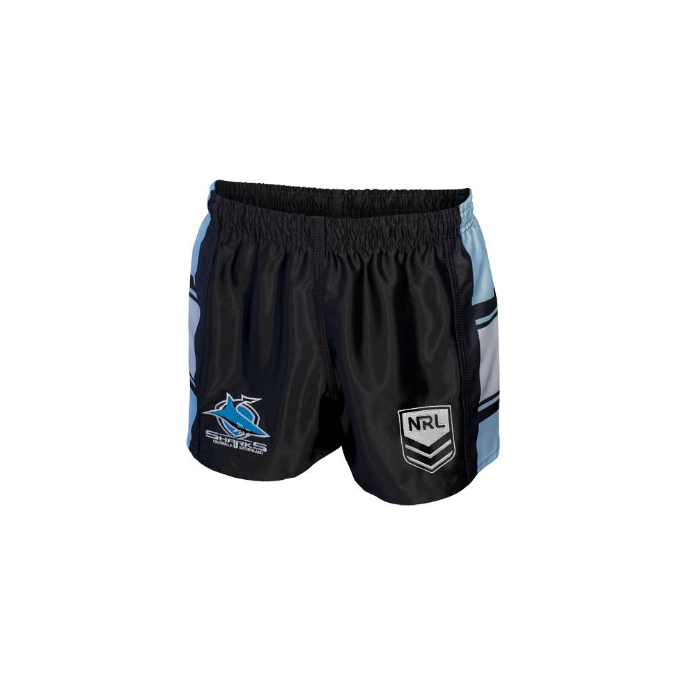 SHARKS HOME NRL YOUTH SUPPORTER SHORTS0