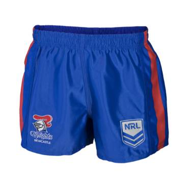 NEWCASTLE KNIGHTS NRL MENS SUPPORTER SHORTS