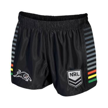 PENRITH PANTHERS NRL MENS SUPPORTER SHORTS