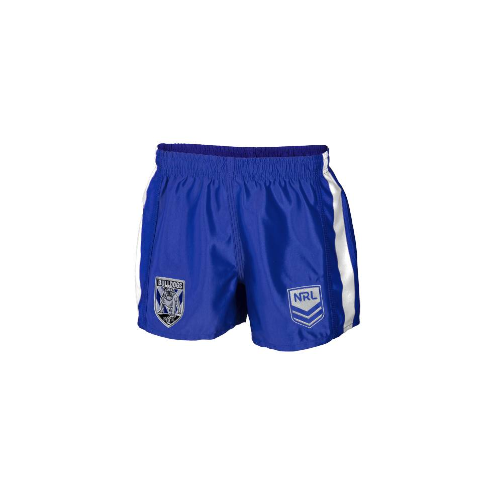 CANTERBURY BULLDOGS YOUTH NRL SUPPORTER SHORTS0