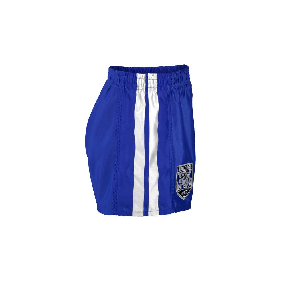 CANTERBURY BULLDOGS YOUTH NRL SUPPORTER SHORTS1