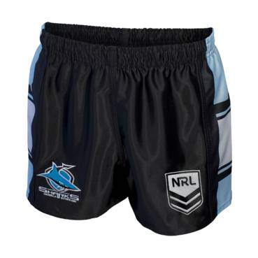 CRONULLA SHARKS YOUTH NRL SUPPORTER SHORTS