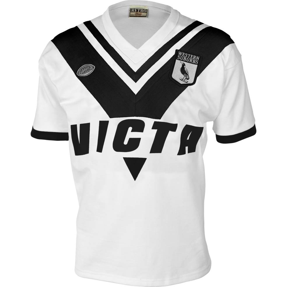 WESTERN SUBURBS MAGPIES 1978 ALTERNATIVE HERITAGE JERSEY0