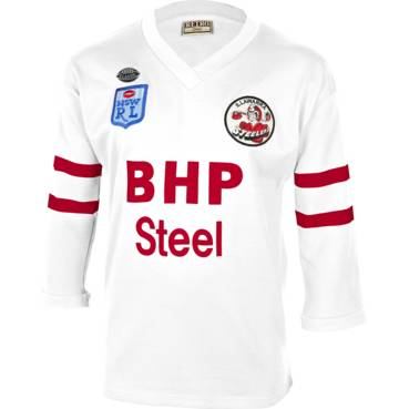 ILLAWARRA STEELERS 1987 ALTERNATIVE HERITAGE JERSEY