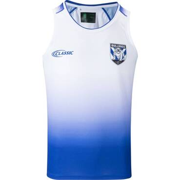COMING SOON - BULLDOGS MENS COACHES TRAINING SINGLET