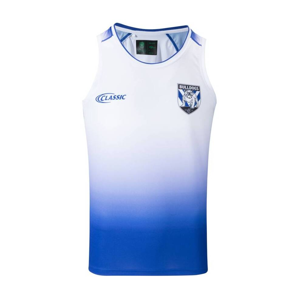 COMING SOON - BULLDOGS MENS COACHES TRAINING SINGLET0