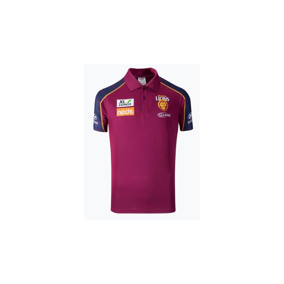 COMING SOON - LIONS MENS COACHES MEDIA POLO0