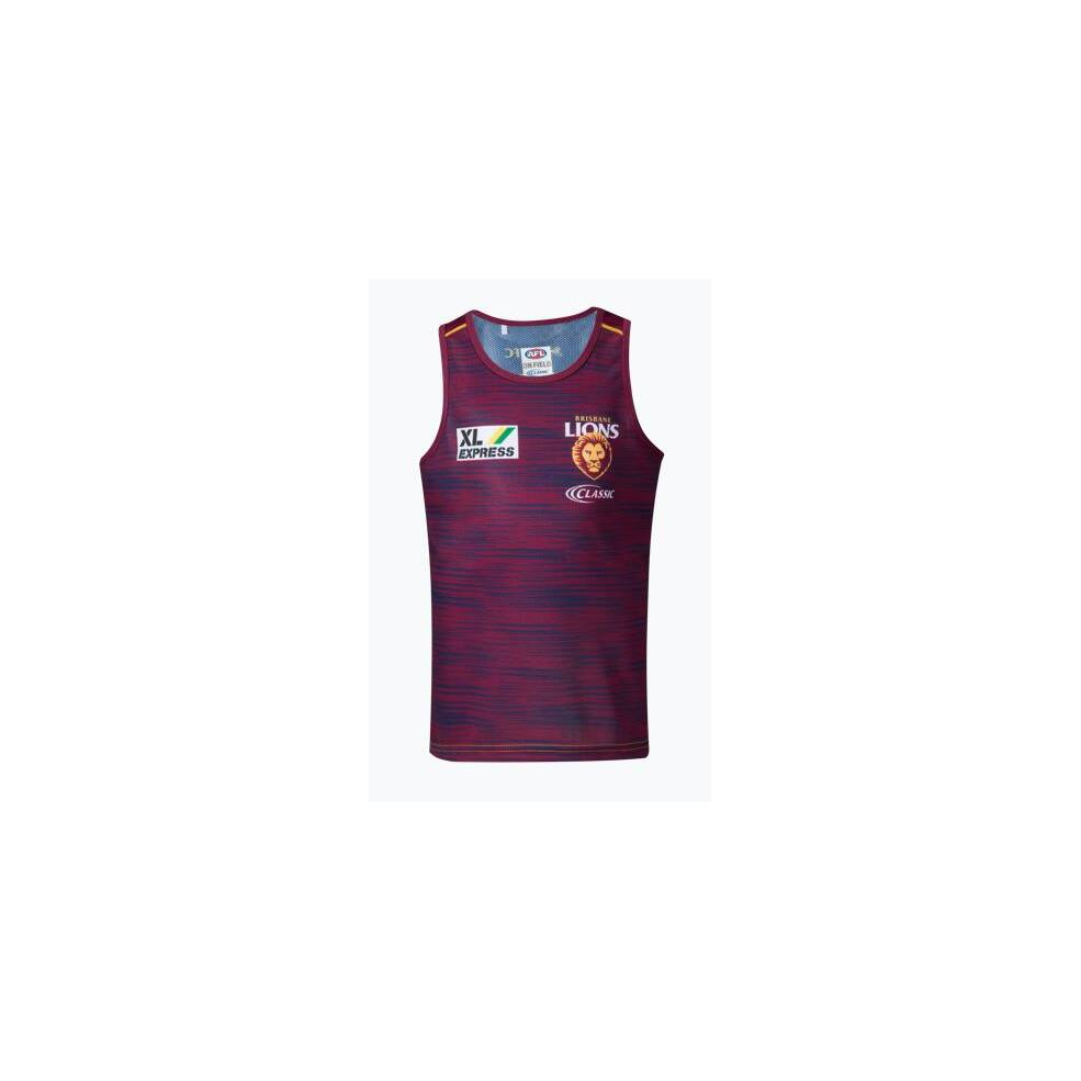 COMING SOON - LIONS MENS TRAINING SINGLET0
