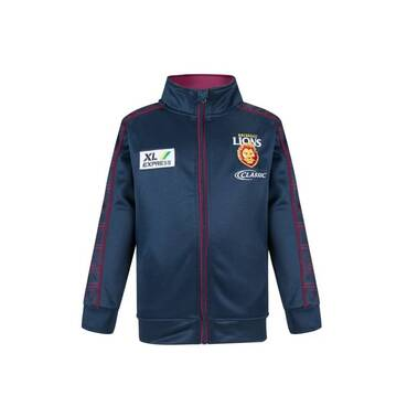 COMING SOON - LIONS MENS ZIP THRU WARM UP FLEECE