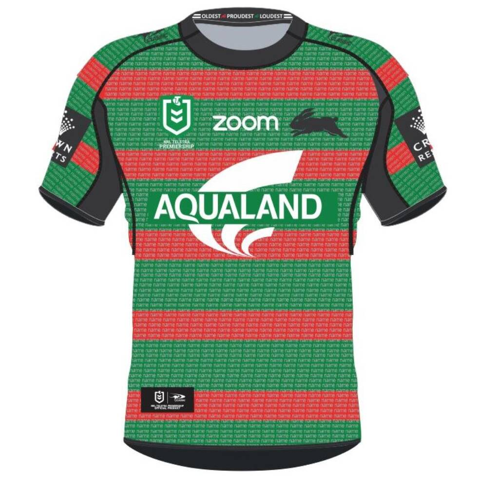 SURNAMES A - K ONLY || LADIES RABBITOHS 'THANK YOU' HOME PLEDGE JERSEY0